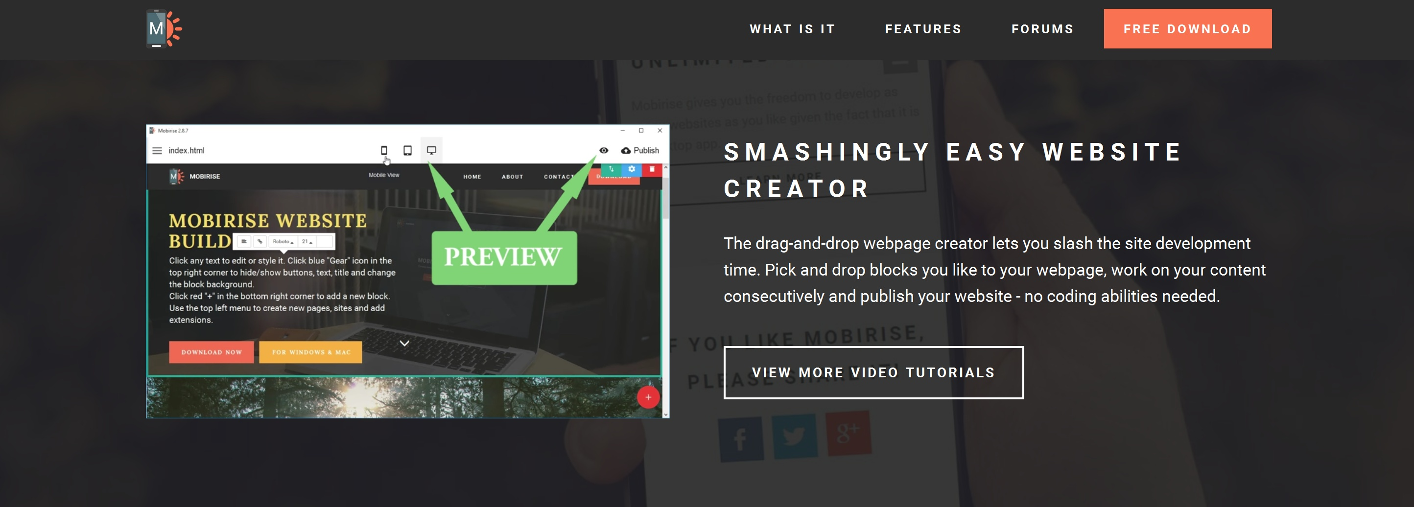 WYSIWYG Simple Website Builder Review