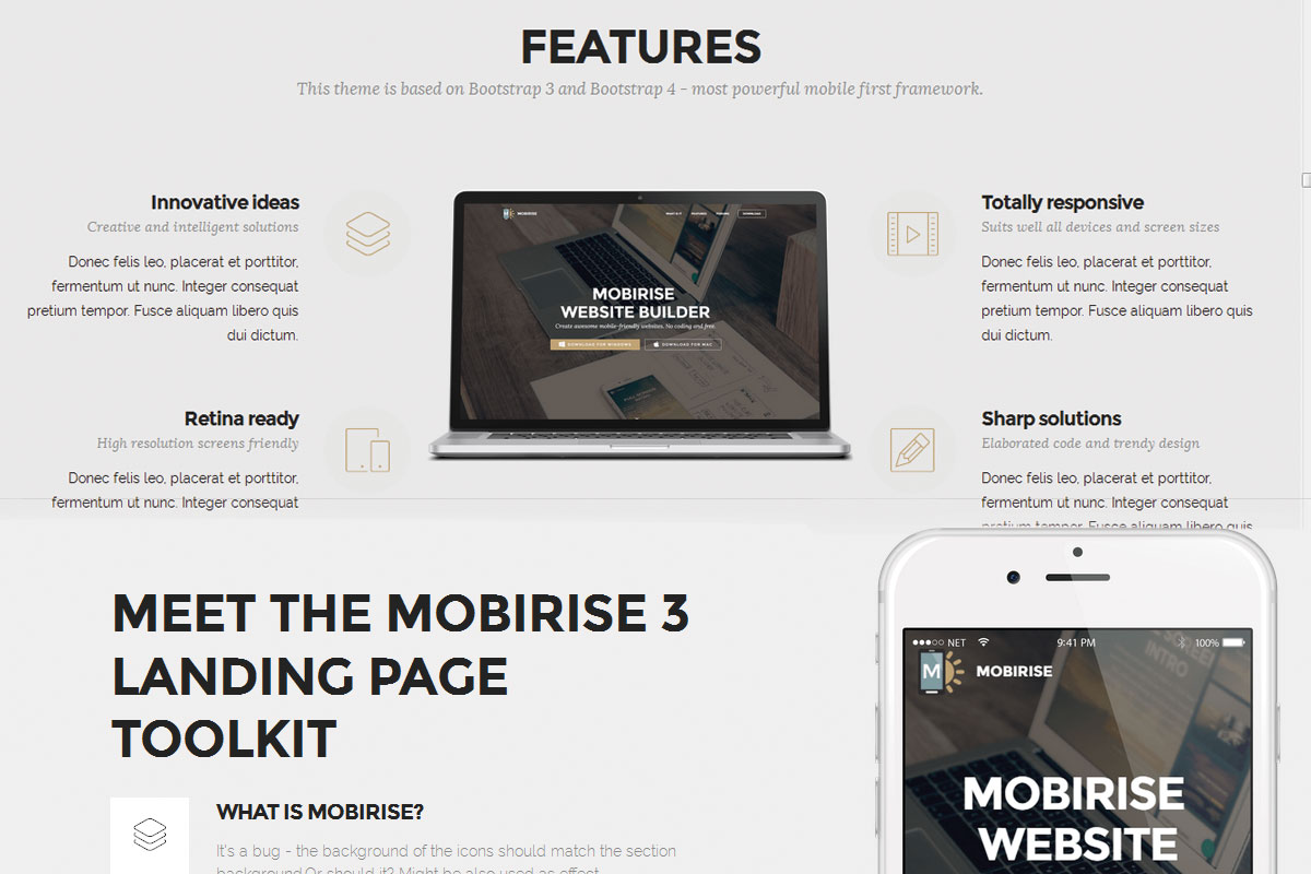 Mobile Responsive Web Site Builder