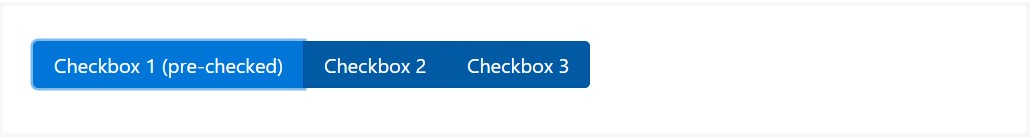 Ways to use the Bootstrap checkbox