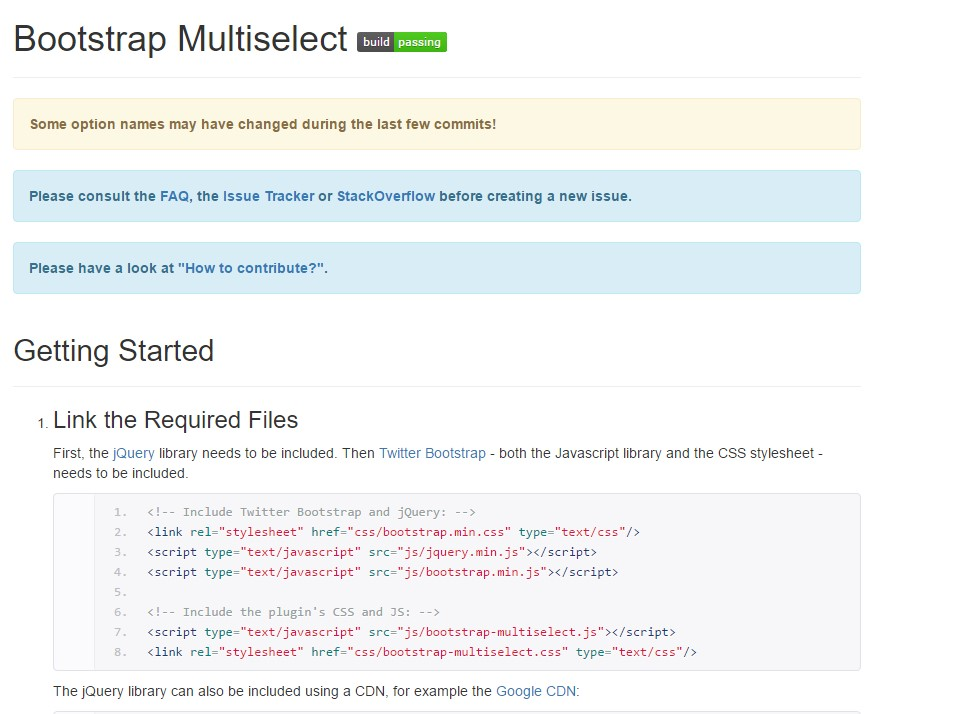 Bootstrap multiple select tutorial
