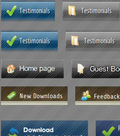 websites will pulldown menus go button Vertical Menu Template Toggle