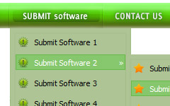 Html Frame Navigation Submenu Overlap html java menu bars