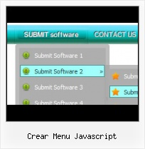 Java Menubar Submenu roll over menu maken css horizontaal