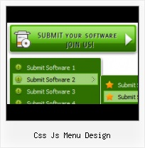 Javascript Slide Menu transparent menu bar css