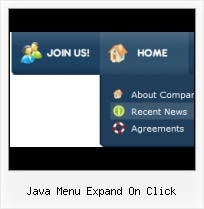 Floating Menu Html tab pane menu sample java script