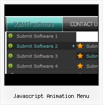 Java Tabbed Menu side scrolling menu website template