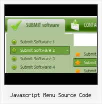 Simple Javascript Submenu simple code horizontal tab menu
