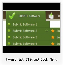 Javascript Submenu Styles menu horizontal collapse