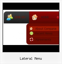 Slider Js Menu list menu as button