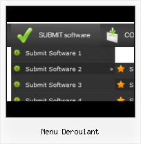 Rightmenu Js black button and menu templates