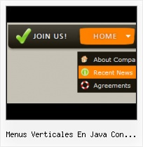 Menu Ajax Templates ejemplo menu de desplegable