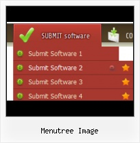 Slide Menu Bar website rollover side menus