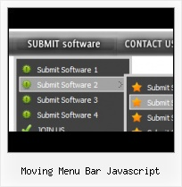 How To Collapse Menu In Javascript example of horizontal submenu