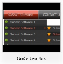 Sample Menu Templates simple expanding collapsing vertical menu