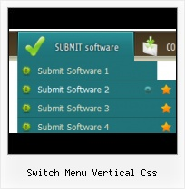 Css Horizontal Menu Rounded Buttons free js collapsible menu