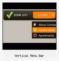 Profesional Vertical Menu Javascript descarga de easy web menu creator
