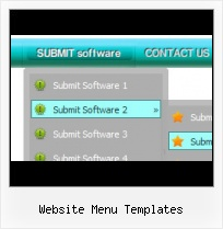 Easy Expandable Javascript Menu rollover menu horizontal html