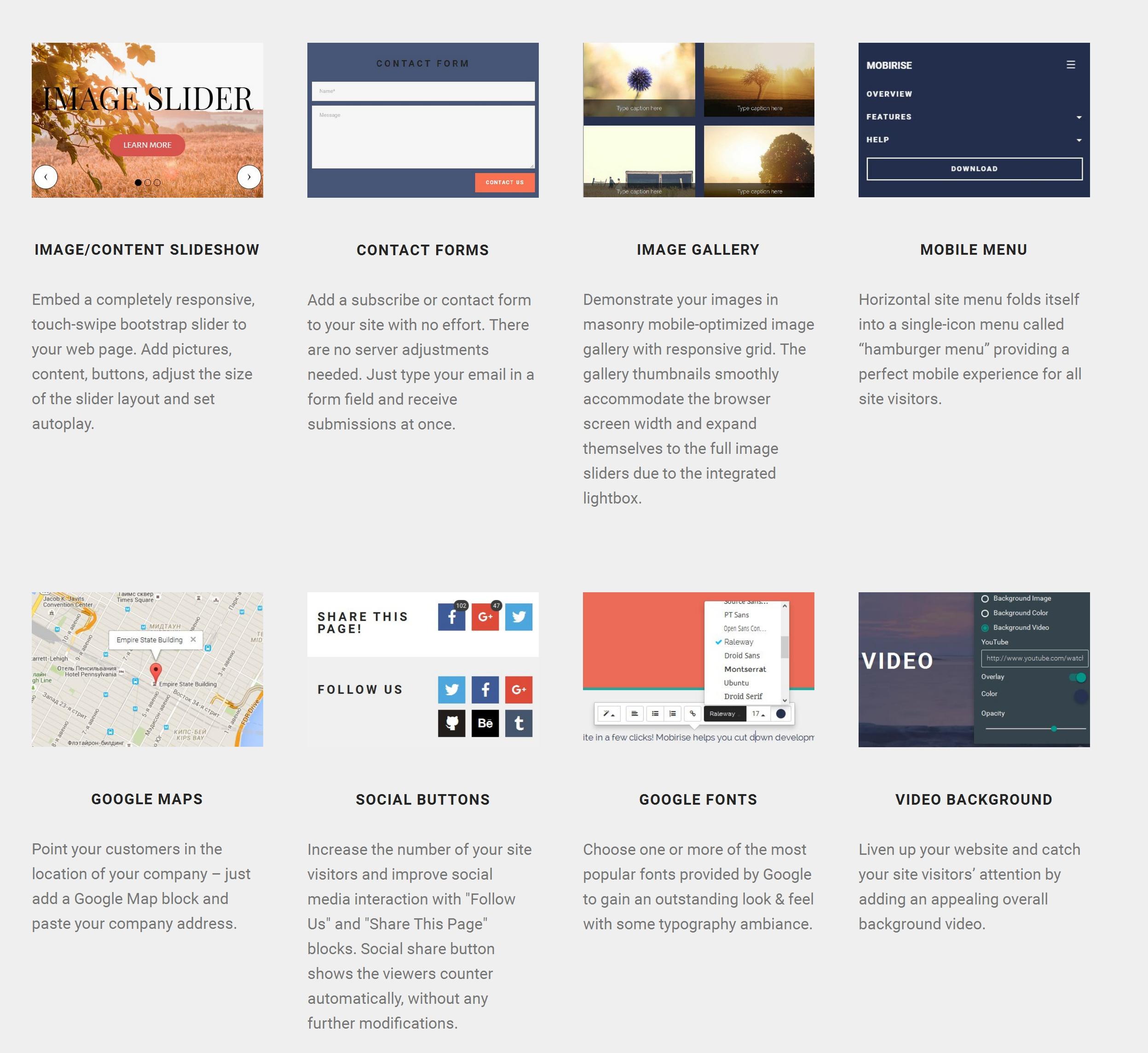 Simple Mobile Web Page  Creator