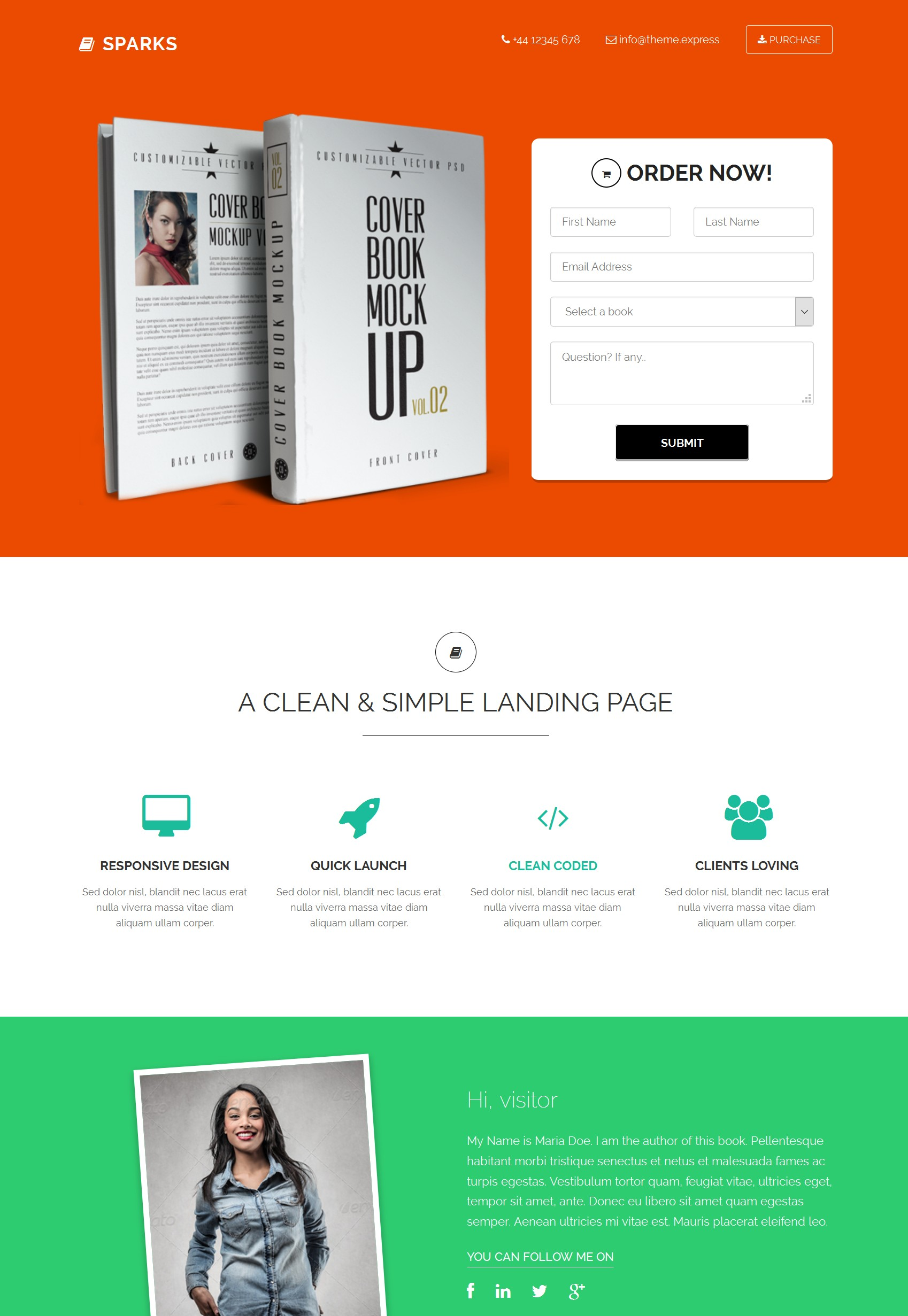 HTML Bootstrap Video Theme