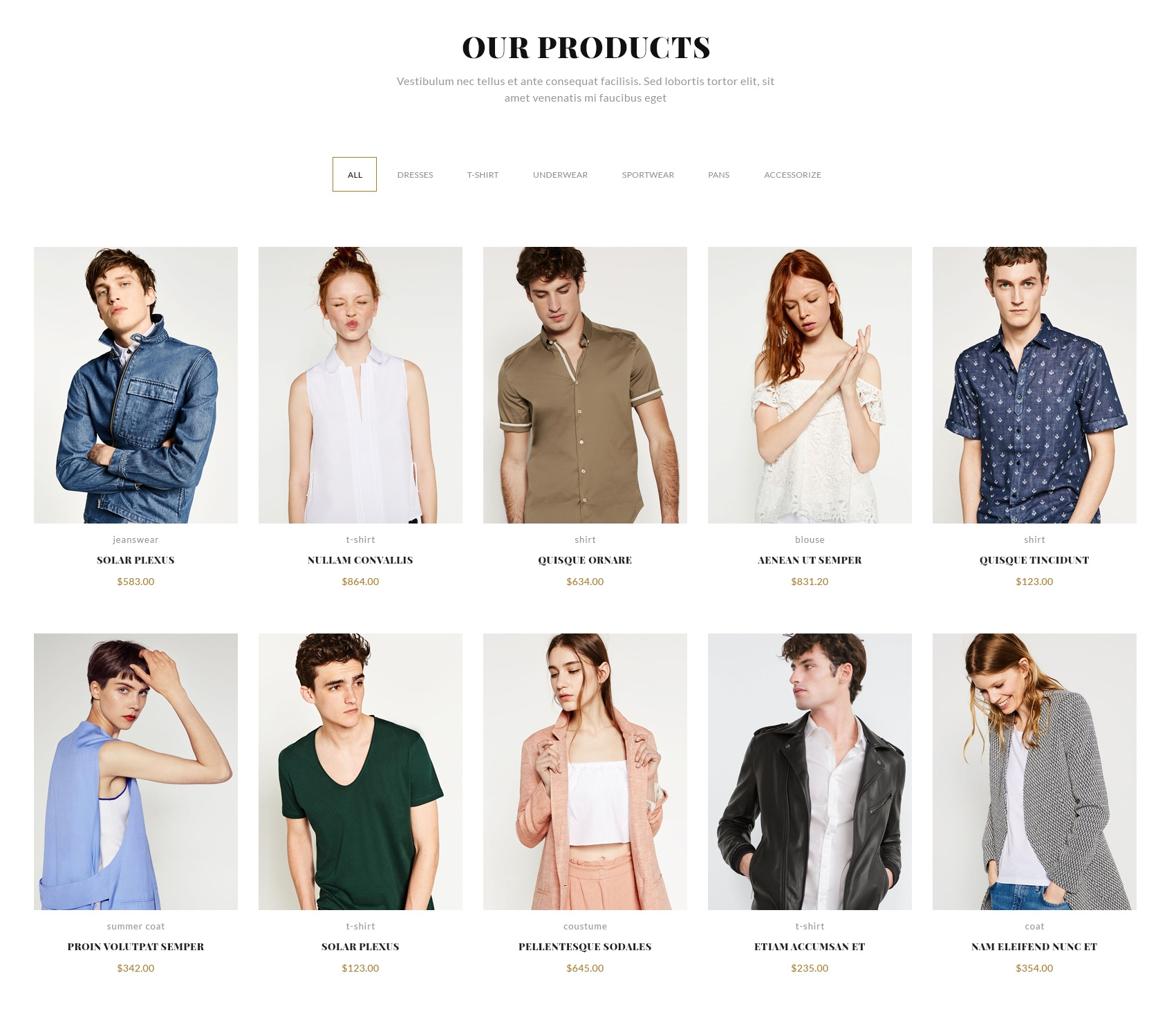 Free Bootstrap Store Theme
