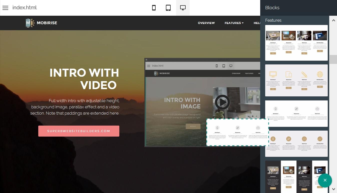 HTML Web Generator