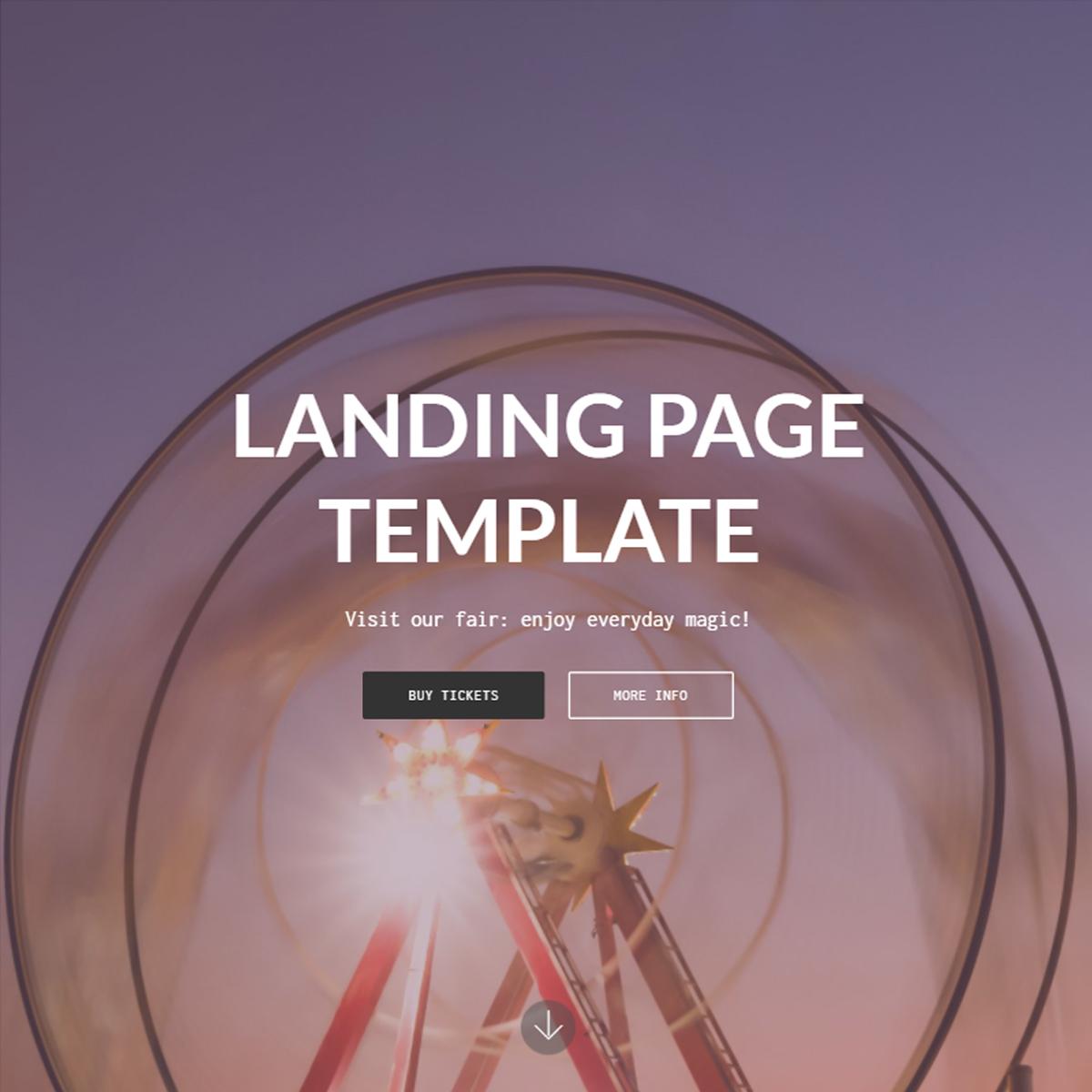 HTML5 Bootstrap Landing Templates