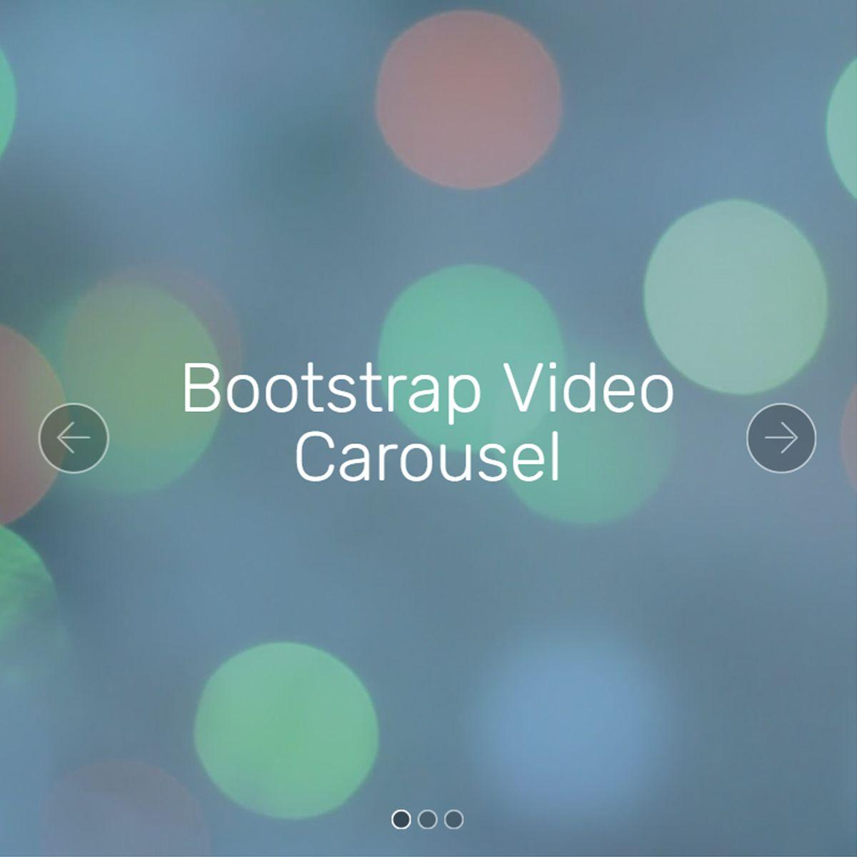 CSS3 Bootstrap Photo Slider