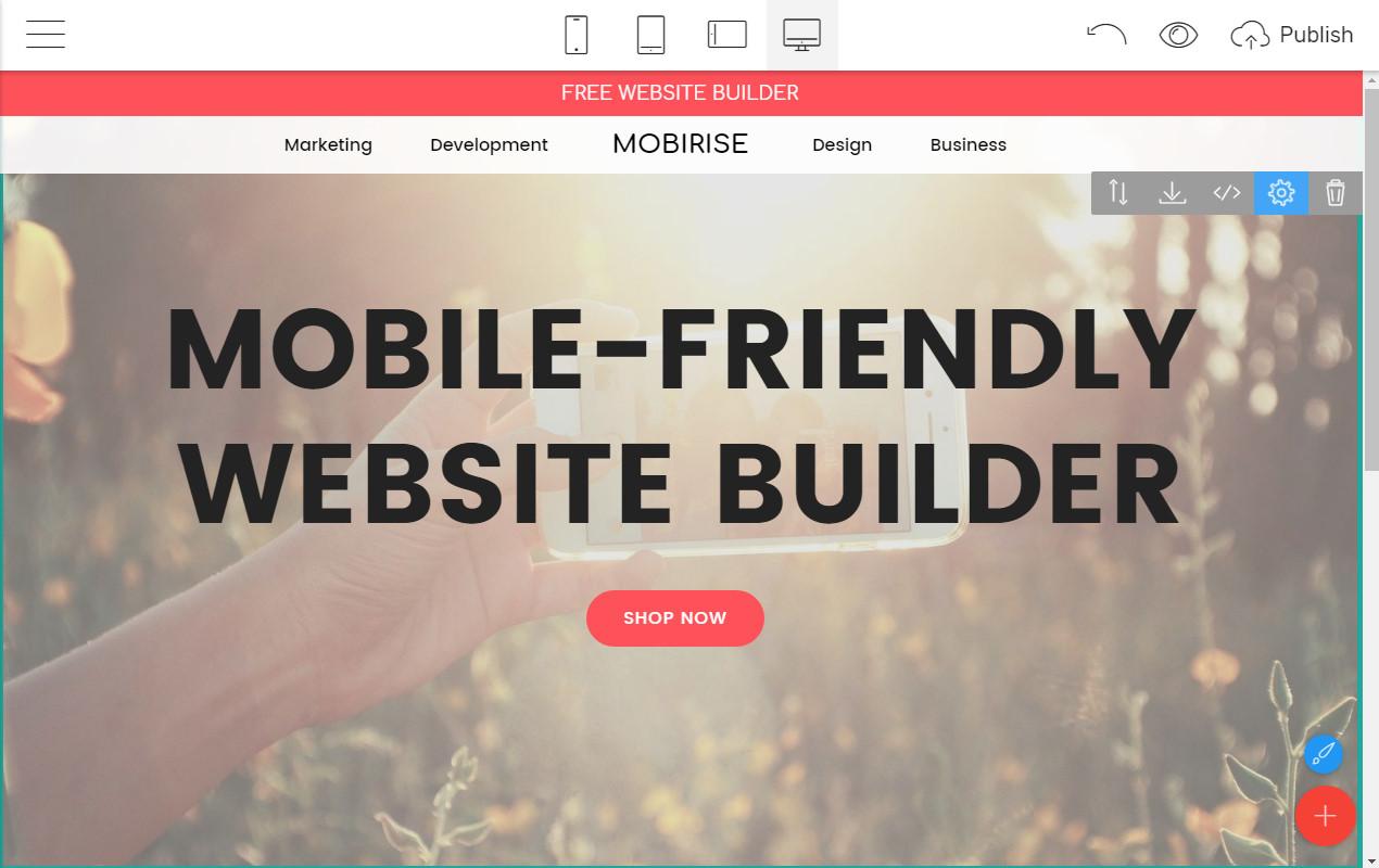 Mobile Webpage Creator