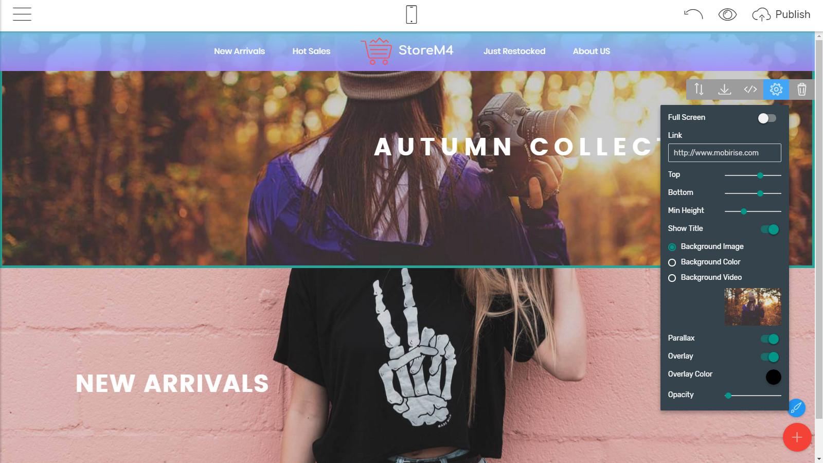 responsive site templates