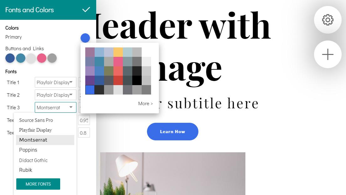 Drag and Drop Website Maker