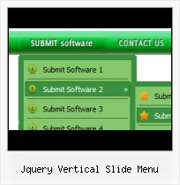 Jquery Vertical Slide Menu Template
